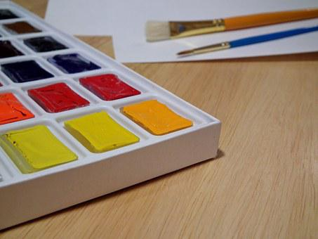 Watercolor, Paint, Color, Drawing, Art, Multi Color