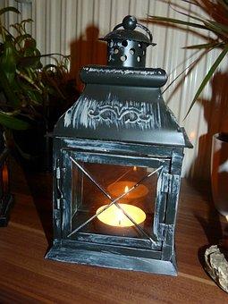 Lantern, Light, Lamp, Mood, Candle, Atmosphere, Heat