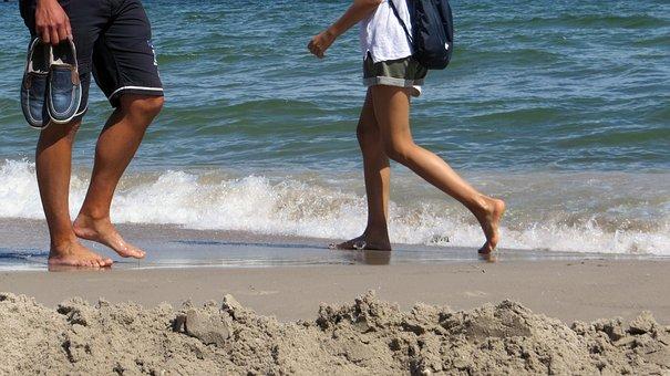 Beach, Water, Mussels, Stones, Coast, Baltic Sea, Wave