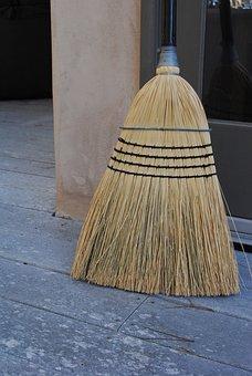 Clean, Broom, Simple Life