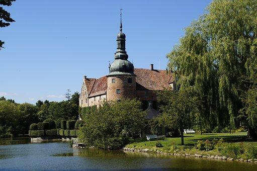 Castle, Sweden, Architecture, Chateau, Building