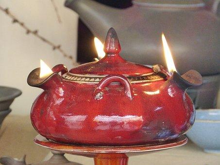 Lamp, Oil Lamp, Flame, Fire, Light, Christmas, Bill