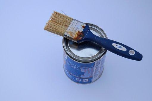 Brush, Paint, Box, Color Box, Delete, Craft