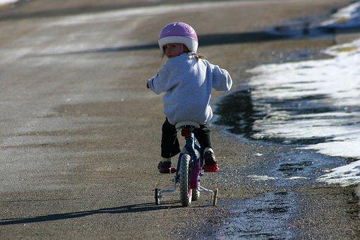 Bicycle, Girl, Biking, Bike, Child, Cute, Sport