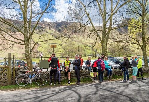 Lake District, Cycling, Cycle, Mountain, Great Langdale