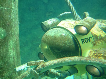 Diving, Underwater, Submarine, Divers, Diving Robot