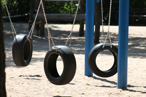 Swing, Playground, Play, Swing Device, Game Device
