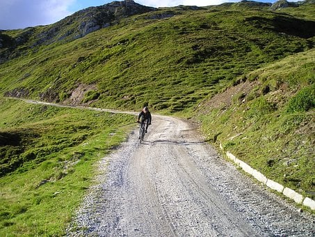 Gravel Road, Mountain Bike, Bike, Tour, Downhill