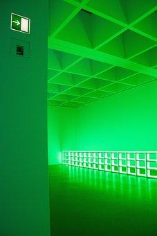 Art, Modern, Installation, Light Sculpture, Neon Lights