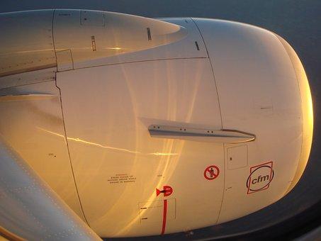 Jet Engine, Aeroplane, Aviation, Jetliner, Jet, Engine