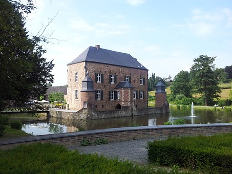 Castle, Moat, Historically, Kasteel Erenstein, Hotel