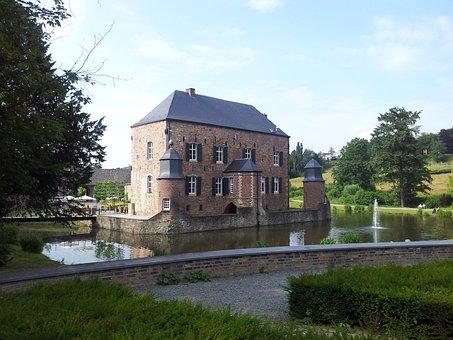 Castle, Moat, Historically, Kasteel Erenstein, Hotel