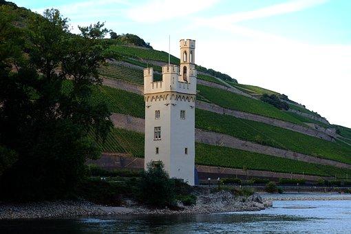 Bingen Mäuseturm, Tower, Places Of Interest