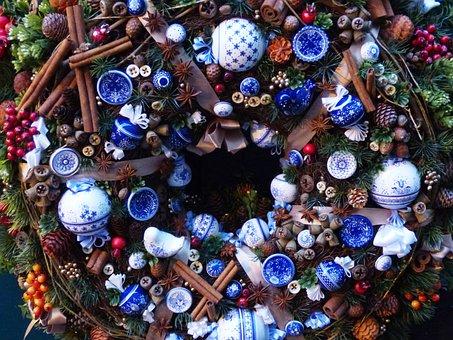 Reed, Christmas Headdress, Holidays, Decorate