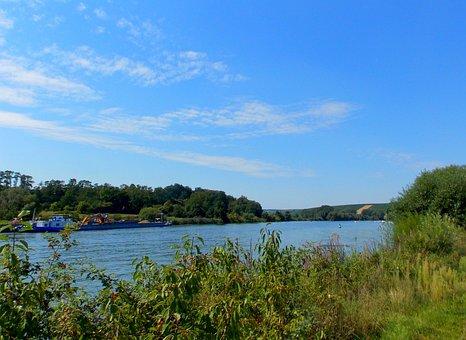 River, Main, River Landscape, Riverside, Bank, Nature