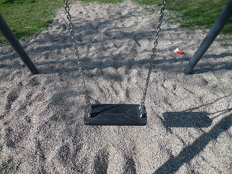 Swing, Playground, Swing Device, Play, Game Device
