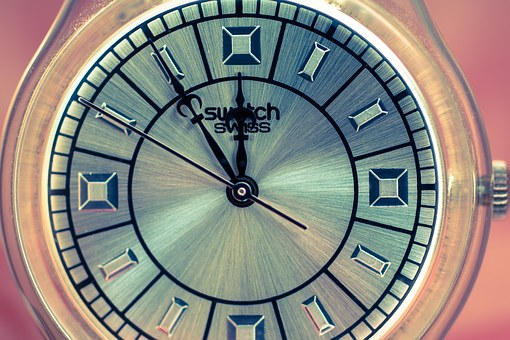 Clock, Clock Face, 5 Vor 12, Pointer, Time Of, Time
