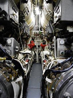 U Boat, Torpedo, Submarine, Torpedo Room, Torpedo Tubes
