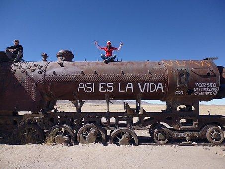 Trip Around The World, Freedom, Train, Locomotive