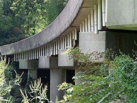 Architecture, Bridge, Travel, Landmark, River, Water