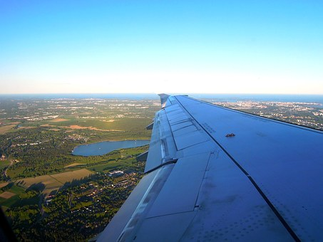 Aircraft, Wing, Fly, The Land, Window, The Tourist