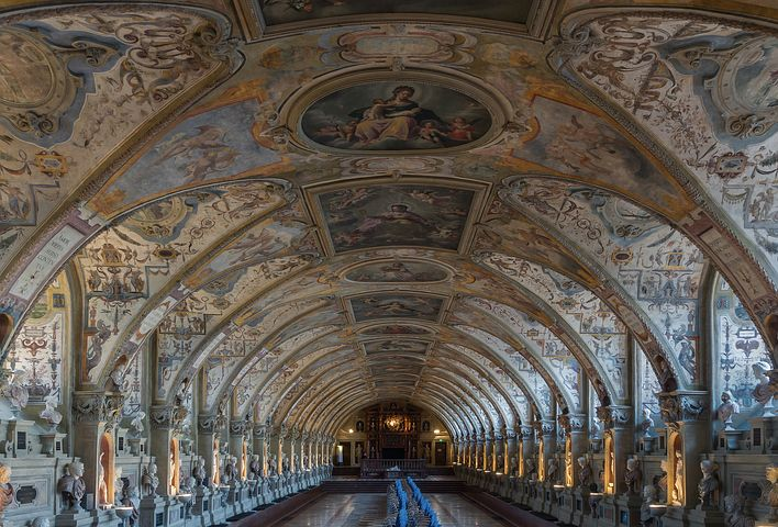 Antiquarium Residenz Munich, Architecture