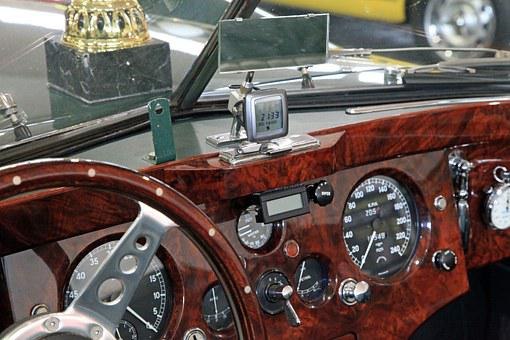 Oldtimer, Dashboard, Classic, Automotive
