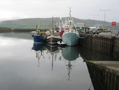 Boats, Dingle, Ireland, Kerry, Water, Sea, Ocean, Irish
