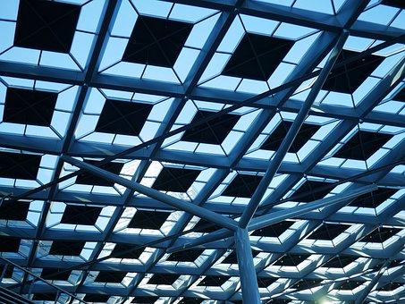 Light, Roof, Architecture, Glass, Cashier Cs, Pillar