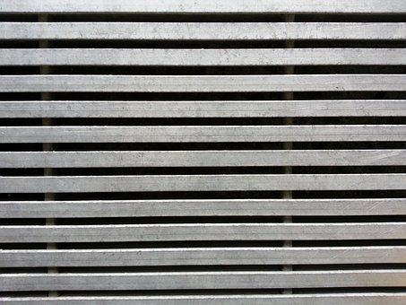 Metal, Grid, Background, Pattern, Metallic, Steel