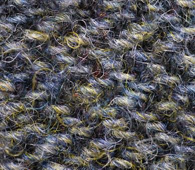 Fabric, Detail, Harris Tweed, Coarse, Plant Dyes