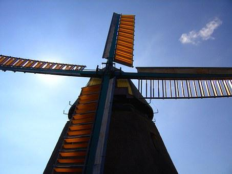 Mill, Wind, Wing, Historic Preservation, Mill Museum