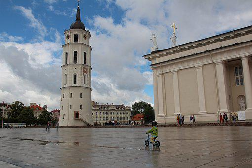 Lithuania, Vilnius, St Catherine's Church, Historically