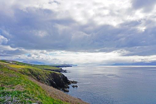 Ireland, Dingle, Ocean, Kerry, Landscape, Travel