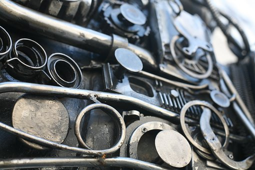 Mechanics, Metal, Machine, Iron, Ironworks