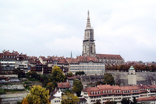 City Of Berne, Münster, Old Town, Historically