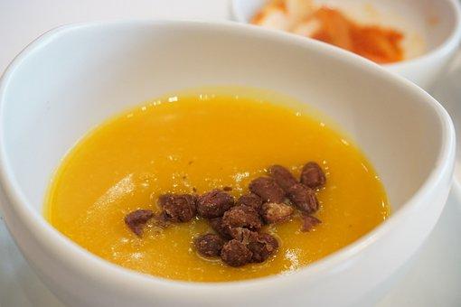 Pumpkin Porridge, Korean, Korean Food, Food, Cooking