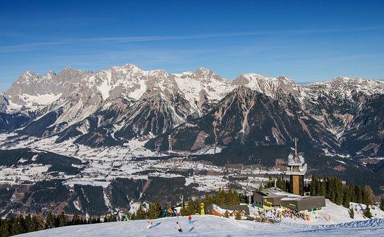 Planai, Schladming, Dachstein, Snow, Ski Slope