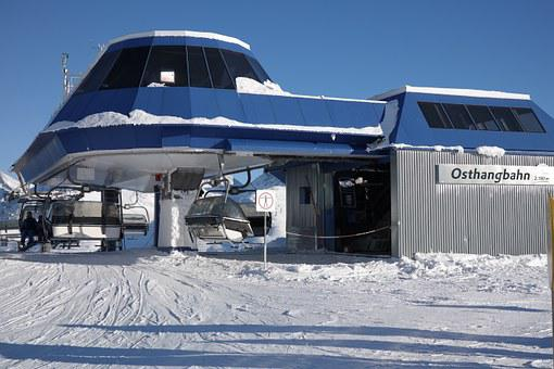 Ski Area, Mountains, Skiing, East Slope Car, Ski Lift