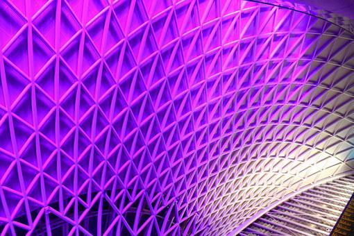 Station, London, King's Cross, Roof, Architecture