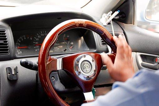 Steering Wheel, Handlebars, Auto, Mirrors, Automotive