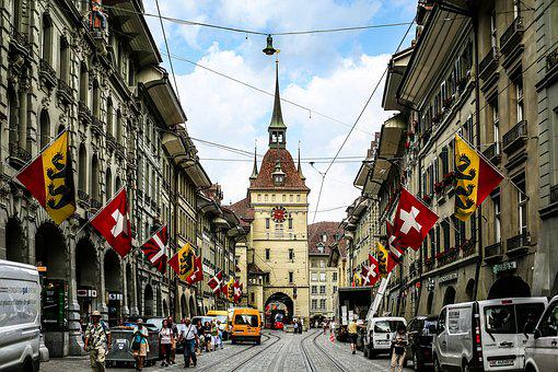 Swiss, Berne, The Old Town