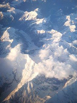 Aerial, View, The Plane, Flight, Land, Sky, Airfare
