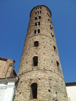 Ravenna, Campanile, Torre, Tower Of The Church