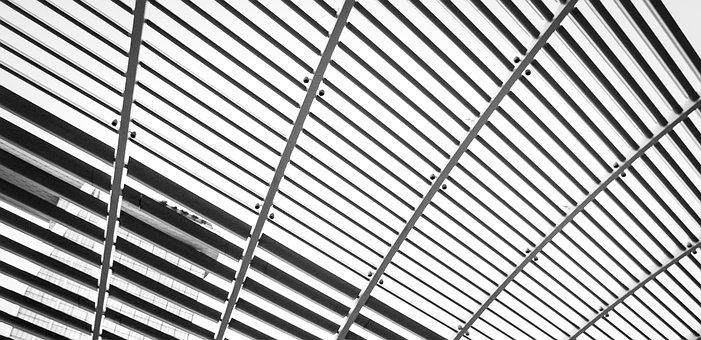 Architecture, Black, White, Architectural, Travel