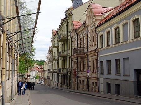 Vilnius, Lithuania, Old Town, Street, Europe, Baltic