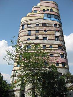 Darmstadt, Waldspirale, Hundertwasser, Germany