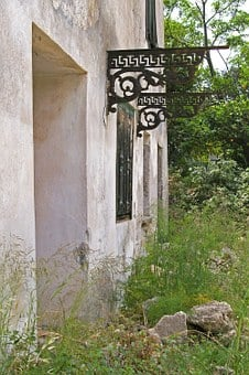 Greece, Samos, Vacations, Summer, Water, Old House