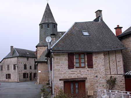 Stone Hamlet, French Village, Ancient Houses
