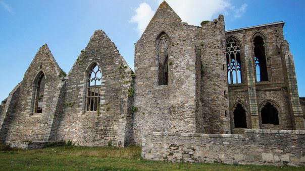 Cloister, Ruin, Architecture, Building, Medieval